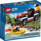 PRZYGODA W KAJAKU LEGO CITY 60240