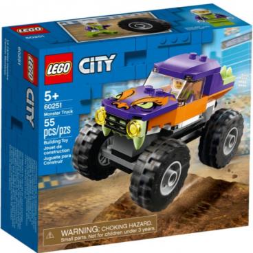 MONSTER TRUCK LEGO CITY 60251