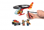 HELIKOPTER STRAŻACKI LECI NA RATUNEK LEGO CITY 60248