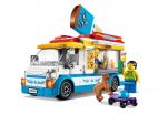 FURGONETKA Z LODAMI LEGO CITY 60253