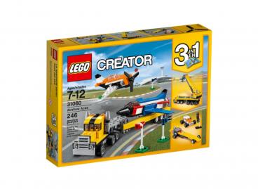POKAZY LOTNICZE 3w1 LEGO CREATOR 31060