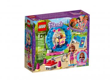 PLAC ZABAW DLA CHOMIKÓW LEGO FRIENDS 41383