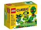 ZIELONE KLOCKI KREATYWNE LEGO CLASSIC 11007