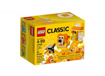 POMARAŃCZONY ZESTAW KREATYWNY LEGO CLASSIC 10709