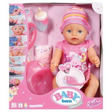 INTERAKTYWNA LALKA BABY BORN ZAPF CREATION 116716