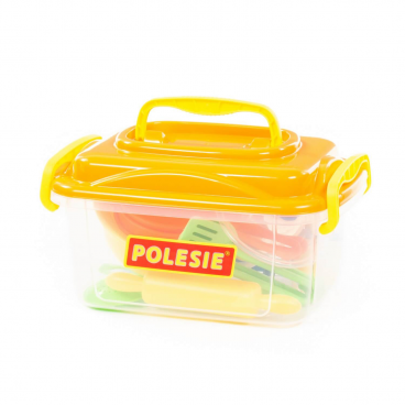 ZESTAW NACZYŃ 20 ELEMENTÓW WADER - POLESIE 56634