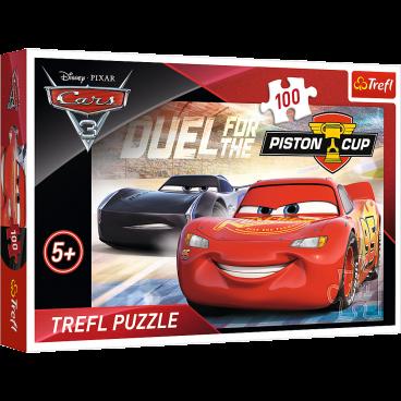 PUZZLE CARS 3 PISTON CUP 100 ELEMENTÓW TREFL