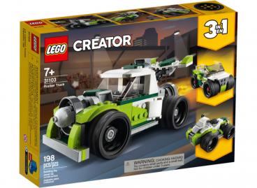 RAKIETOWY SAMOCHÓD 3w1 LEGO CREATOR 31103