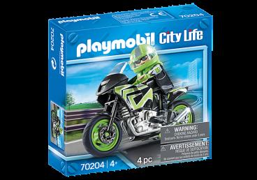 WYCIECZKA MOTOCYKLOWA PLAYMOBIL 70204