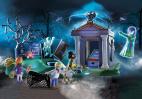 SCOOBY-DOO!  Przygoda na cmentarzu PLAYMOBIL 70362