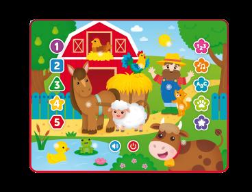 TABLET ZABAWA NA FARMIE DUMEL DISCOVERY 80012