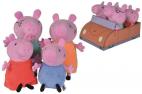 Świnka Peppa - Rodzina świnki w aucie