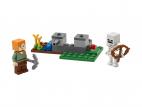 OBRONA PRZED SZKIELETAMI LEGO MINECRAFT 30394