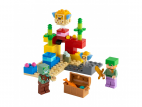 RAFA KORALOWA LEGO MINECRAFT 21164