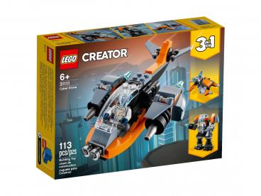 CYBERDRON 3W1 LEGO CREATOR 31111