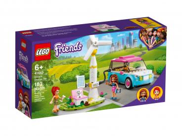 SAMOCHÓD ELEKTRYCZNY OLIVII LEGO FRIENDS 41443