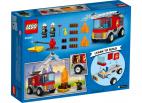 WÓZ STRAŻACKI Z DRABINĄ LEGO CITY 60280
