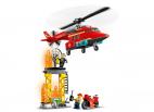 STRAŻACKI HELIKOPTER RATUNKOWY LEGO CITY 60281