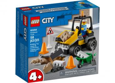 POJAZD DO ROBÓT DROGOWYCH LEGO CITY 60284