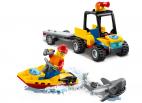 PLAŻOWY QUAD RATUNKOWY LEGO CITY 60286