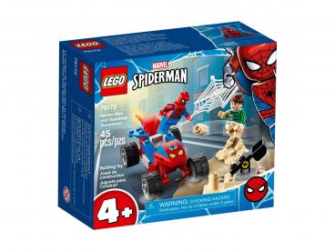 POJEDYNEK SPIDER-MANA Z SANDMANEM LEGO MARVEL SUPER HEROES 76172