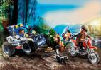 POŚCIG POLICYJNYM SAMOCHODEM TERENOWYM PLAYMOBIL 70570