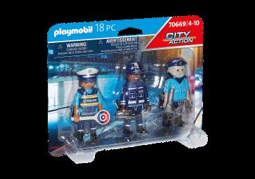 ZESTAW FIGUREK POLICJANCI PLAYMOBIL 70669