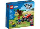 QUAD RATOWNIKÓW DZIKICH ZWIERZĄT LEGO CITY 60300