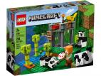ŻŁOBEK DLA PAND LEGO MINECRAFT 21158