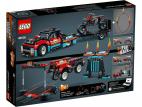 FURGONETKA I MOTOCYKL KASKADERSKI LEGO TECHNIC 42106