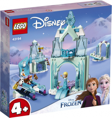LODOWA KRAINA CZARÓW ANNY I ELZY LEGO DISNEY 43194