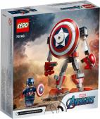 OPANCERZONY MECH KAPITANA AMERYKI LEGO MARVEL AVENGERS 76168