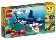MORSKIE STWORZENIA 3W1 LEGO CREATOR 31088