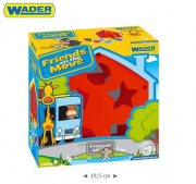 FRENDS ON THE MOVE- DOMEK EDUKACYJNY WADER 54290