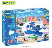 KID CARS 3D- POLICJA 3,8 WADER 53320