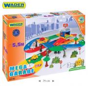 KID CARS 3D- GARAŻ Z TRASĄ 5,5M WADER 53130