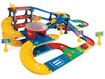 KID CARS 3D- MULTI PARKING Z TRASĄ 9,1M WADER 53070