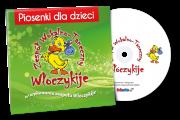 CD Z PIOSENKAMI DLA DZIECI WŁÓCZYKIJE
