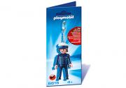 BRELOCZEK POLICJANT PLAYMOBIL 6615