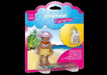 FASHION GIRL PLAŻA PLAYMOBIL 6886