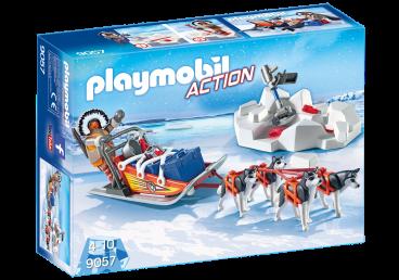 PSI ZAPRZĘG PLAYMOBIL 9057