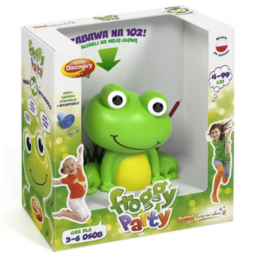 FROGGY PARTY DUMEL DISCOVERY 61645