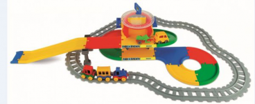 PLAY TRACKS RAILWAY STACJA KOLEJOWA WADER 51520